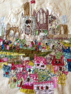 Just beautiful - work of Marna Lunt Textile Artist.