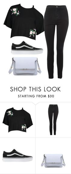 """You"" by thefashionguilty on Polyvore featuring Boohoo, Topshop and Vans"