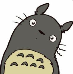 Huh???.. cute Totoro...