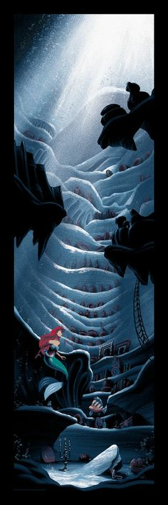 """""""Out of the Sea - Wish I could be - Part of your world."""" Ariel in Disney's The Little Mermaid"""