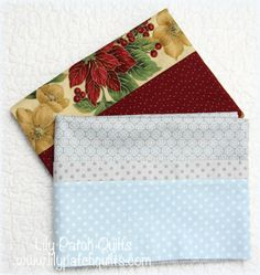 Lily Patch Quilts: Pillowcases