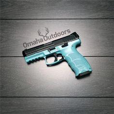 H&K HK VP9 VP 9 Tiffany Blue 9mm 15 RDS M700009-A5