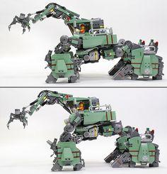 07 | legorobo:waka | Flickr Lego Robot, Robots, Legos, Halo Lego Sets, Lego Structures, Lego Machines, Amazing Lego Creations, Lego Craft, Fantasy Creatures