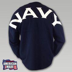 Navy Spirit Football Jersey (Item #J470414-N)