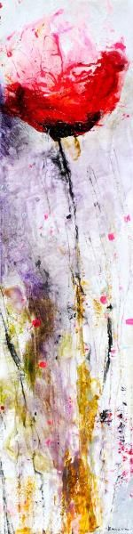 """48x12 """"Untitled"""" Mixed Media by Emilija Pasagic at Crescent Hill Gallery in Mississauga, ON"""