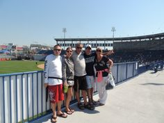 Ray, Kristi, Bill, Tanja and I at George Steinbrenner Field, Tampa, Florida. Spring training home of the New York Yankees. .. 2013