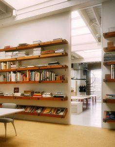 I was curious how you attached these shelves to the wall? I want to do something similar and make sure that the shelves would be sturdy enough to hold... - Houzz