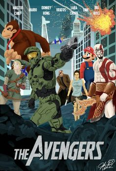 Video game avengers