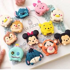 Macaron tsumtsum collection
