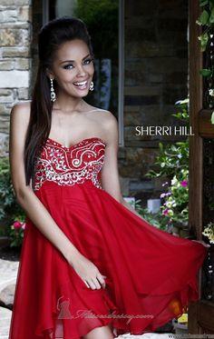 Sherri Hill 3880 by Sherri Hill - That Lady In Red ~