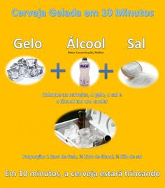 "Método Milenar de ""Gelamento"" de Cerveja #cerveja #churrasco #beer #gelada #casaequipada"