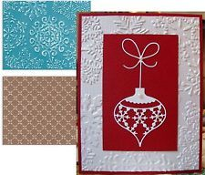 Sizzix embossing folders FLOWER & SNOWFLAKES embossing folder set 657254 2pc
