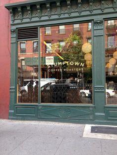 Stumptown Coffee, West 8th Street and MacDougal, Greenwich Village, NYC