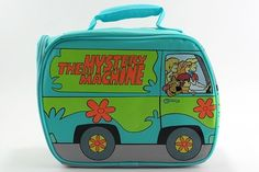 Scooby Doo Mystery Machine Lunch Bag