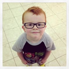 A little boy was embarrassed about having to wear glasses. His mom made a Facebook page to support him, and the Internet responded.