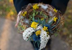 Ring bearer's wreath.  beautiful blooms events