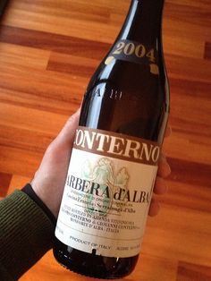 """Deemed """"best red wine in a long time"""" 2004 Giacamo Conterno #Barbera by jamesonf, via Flickr #Italy #Piemonte"""