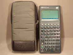 Calculatrice-calculator-Hewlett-Packard-HP-48G-32K-RAM