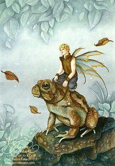 3jaysmom fairies :: frogrider.jpg image by 3jaysmom - Photobucket