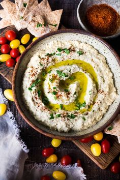 Authentic Baba Ganoush Recipe is part of Babaganoush recipe - Simple, Authentic Baba Ganoush recipe made with smoky grilled eggplant, tahini, garlic and lemon A flavorful, healthy Middle Eastern Eggplant Dip! Lebanese Baba Ganoush Recipe, Best Baba Ganoush Recipe, Baba Ganoush Recipe Without Tahini, Clean Eating Recipes, Cooking Recipes, Keto Vegan, Vegan Food, Vegetarian Recipes, Appetizer Recipes