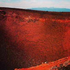 Kamchatka volcano crater. #russia