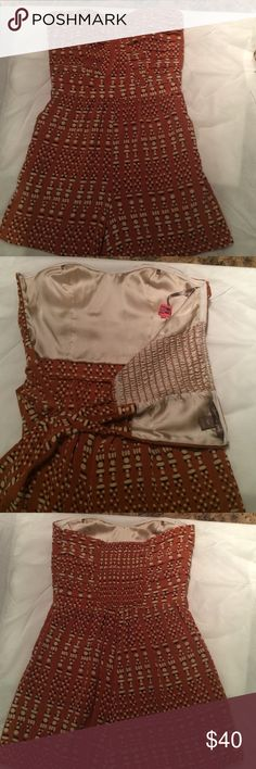 Charlie Jade romper- built in bra Like new. Recently dry- cleaned. Built in, structured bra. Charlie Jade Other