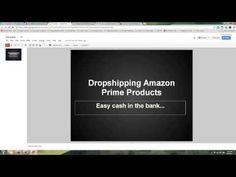 Easy Money from Drop-shipping Amazon Prime Products on Ebay Free Training, Ds, Money, Amazon, Ebay, Products, Amazon Warriors, Silver, Riding Habit