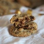 Caramelita Cookies - oatmeal chocolate chip cookie with a rolo center.  I did make these - they are delicious!