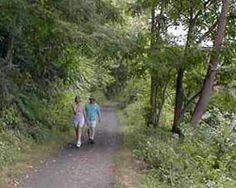 Rails-to-Trails Conservancy: NW NJ Paulinskill Valley Trail, New Jersey 27 miles intersects 20 mile Sussex Branch Trail near Kittany Valley State Park and Appalachian Trail