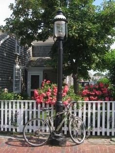 Cobblestone Streets of Nantucket