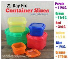 21 day fix container measurements -beachreadynow.com