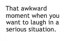 I love when this happens, I actually don't even think of it as awkward. I will even laugh more from the fact that I'm laughing and the more it seems to be weird. I laugh more hahahaha Cartoon Jokes, Cartoons, Expressions, Awkward Moments, Just In Case, Quotes To Live By, Favorite Quotes, Funny Pictures, Funny Pics