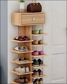 15 shoe storage ideas that you'll love - Creative Storage Diy Home Decor Projects, Home Improvement Projects, Home Crafts, Wood Projects, Decor Ideas, Woodworking Projects, Diy Crafts, Diy Ideas, Woodworking Garage