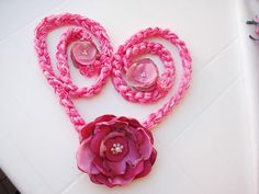 Crochet lariat necklace floral skinny scarf by seragun on Etsy