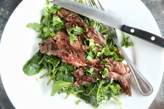 Ginger-Garlic Flank Steak forget the steak sauce- you'll never go back once you try this!