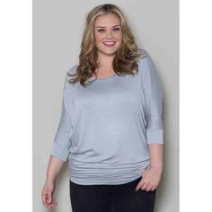 PRE-ORDER - Frances Batwing Top (Silver) $50.00 http://www.curvyclothing.com.au/index.php?route=product/product&path=95_98&product_id=7486