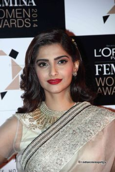 Sonam Kapoor In transparent saree
