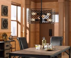 Lighting fixtures with Edison style bulbs offer rich, nostalgic style. - Lighting & Decor by www.lampsplus.com