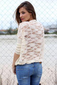 lacey jumper | Lady Addict en stylelovely.com