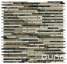 VESTA 29,8x29,8 cm. Mosaico de piedras rectangulares estrechas de color emperador y beige. http://www.dune.es/es/products/emphasis-mosaico/stone-piedra/vesta/186760 #duneceramica #diseño #calidad #diferenciacion #creatividad #innovacion  #tendencia #moda #decoracion #design #quality #differentiation #creativity #innovation #trend #fashion #decoration http://www.dune.es/es/products/emphasis-mosaico/stone-piedra/vesta/186760