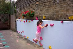 low climbing wall | St Winifreds Primary School