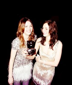 kaya scodelario && hannah murray my 2 faves