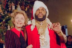 """"""" I Pity The Fool """" In 1983, the White House Santa Was Mr. T 