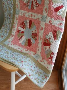 Amy Made That! ...by eamylove: Big Finish - Winter Dresden Quilt