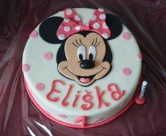 Kids Birthday Themes, Birthday Treats, 3rd Birthday, Birthday Parties, Minnie Mouse Cake, Cake Stuff, Fondant Cakes, Themed Cakes, Cake Decorating