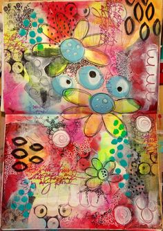 https://flic.kr/p/rippkW | Intuitive art journal pages