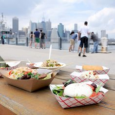 The Best Thing to Order at Every Stand at Smorgasburg - the perfect place to get lunch on the go