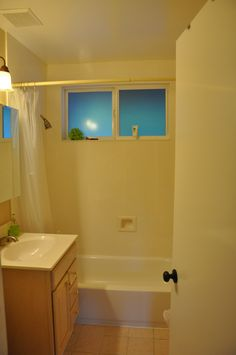 Before and After: A Bathroom Trades a Dated Look For a Darling Modern Style
