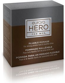 """#Eufora #HERO for #Men - Pliable #Pomade  """"...Perfect for creating fun, #funky #styles or more traditional well-#groomed looks while adding shine and #texture."""""""