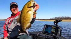 Crankbaits are an excellent way to catch smallmouth bass on natural lakes